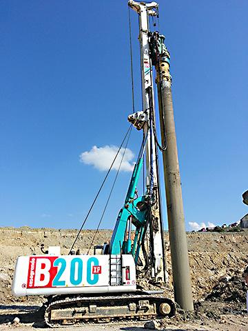 Casagrande B200XP Hydraulic Piling Rig